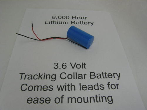 3.6 Volt Lithium Battery Replacement 8,000 hour