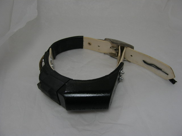 USED Quick Track Collar 217.005 on White strap