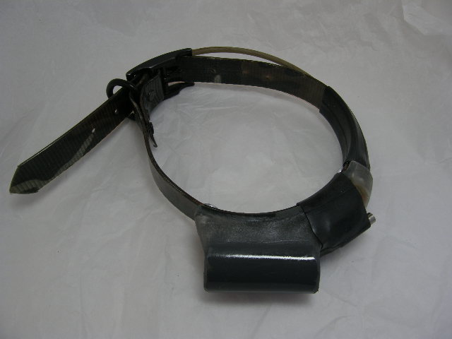 USED Johnson Telemetry Tracking Collar 217.184 with on a Camo strap