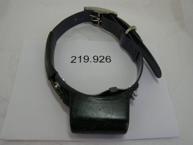 USED Quick Track Tracking Collar 219.926 on a Purple strap