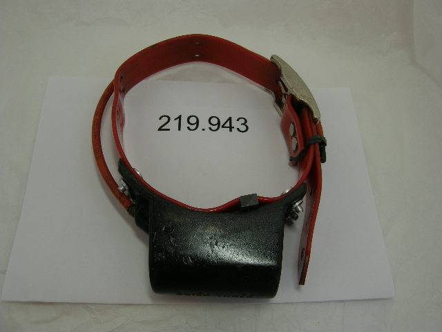 USED Quick Track Collar 219.943 on a Red strap